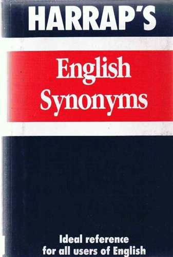 English Synonyms By Harrap's