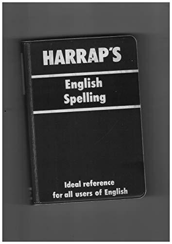 Harrap's English Spelling By Bud Wileman