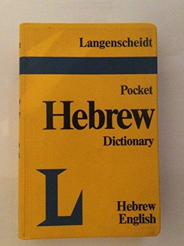 Langenscheidt-039-s-Hebrew-English-English-Hebrew-Pocket-by-Muret-E-0245549838