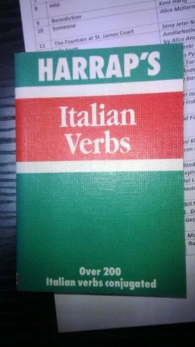 Harrap's Italian Verbs (Mini study aids)