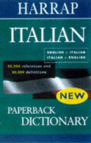 Harrap's Paperback Italian Dictionary By Harrap