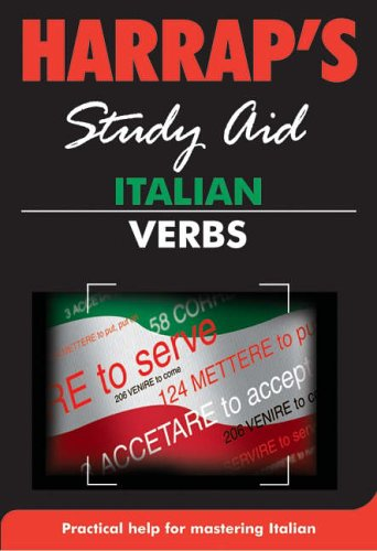 Harrap Italian Verbs By Harrap