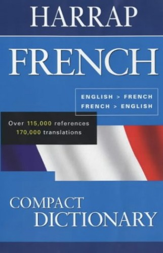 Harraps French Compact Dictionary By Harrap   Used - Very Good   9780245607110   World of Books
