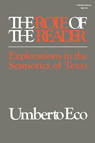 The Role of the Reader By Umberto Eco