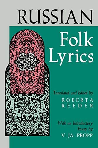 Russian Folk Lyrics By Roberta Reeder