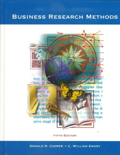 Business Research Methods By Cooper