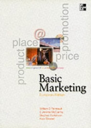 Basic Marketing (European) By E. Jerome McCarthy