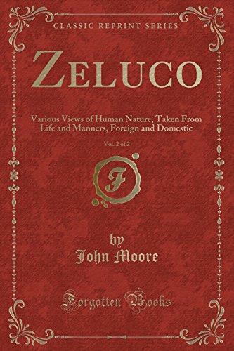 Zeluco, Vol. 2 of 2 By John Moore