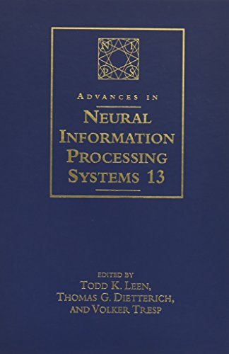 Advances in Neural Information Processing Systems 13 By Todd K. Leen