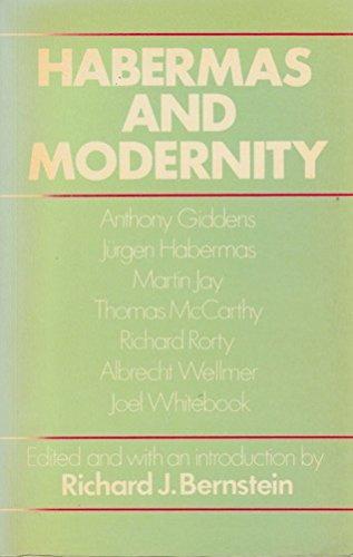 Bernstein: Habermas & Modernity (Paper) by RJ BERNSTEIN