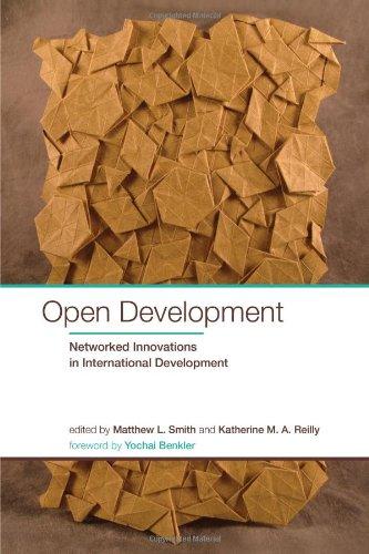 Open Development By Edited by Matthew L. Smith