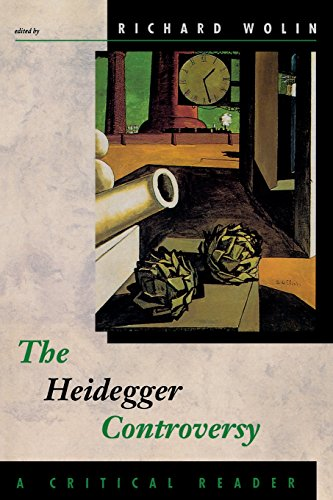 The Heidegger Controversy By Richard Wolin