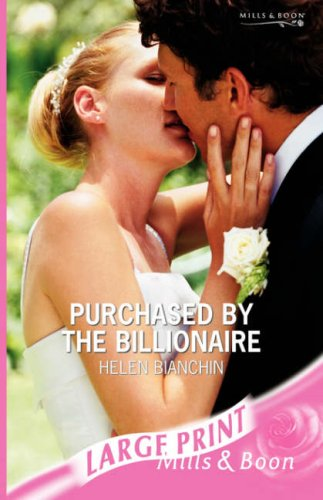 Purchased By The Billionaire By Helen Bianchin