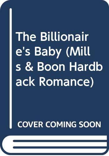 The Billionaire's Baby By Nicola Marsh