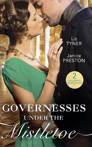 Governesses Under The Mistletoe By Liz Tyner