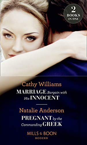 Marriage Bargain With His Innocent By Cathy Williams