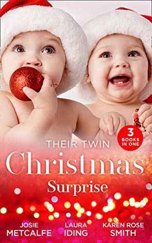 Their Twin Christmas Surprise By Josie Metcalfe