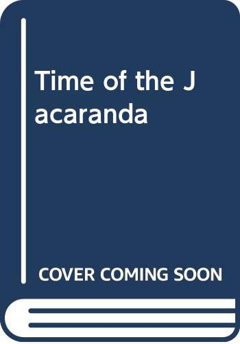 Time of the Jacaranda By Margaret Way