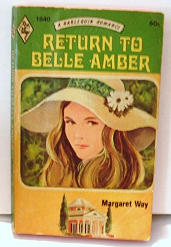 Return to Belle Amber By Margaret Way