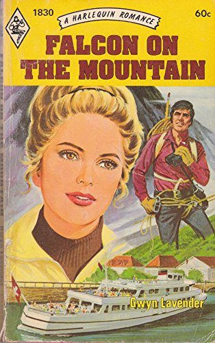 Falcon on the Mountain By Gwyn Lavender