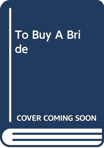 To Buy A Bride By Roberta Leigh