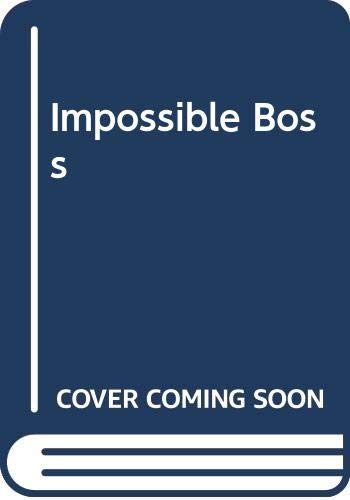 Impossible Boss By Jane Corrie