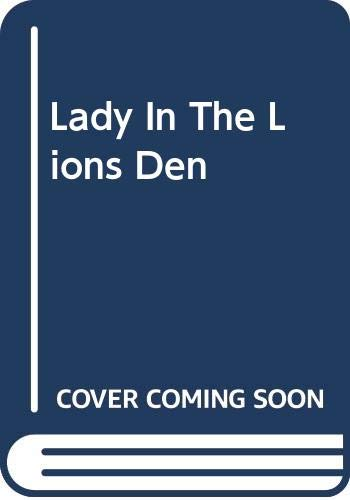 Lady In The Lions Den By Elaine Reeve