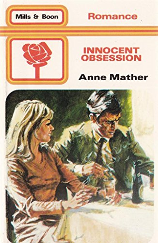 Innocent Obsession By Anne Mather