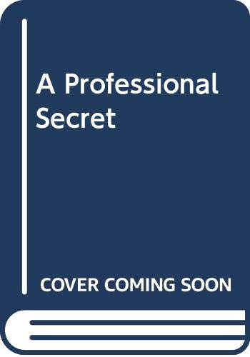 A Professional Secret By Kate Norway