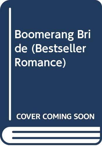 Boomerang Bride By Margaret Pargeter