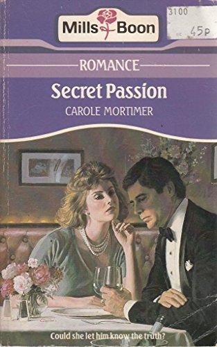 Secret Passion By Carole Mortimer
