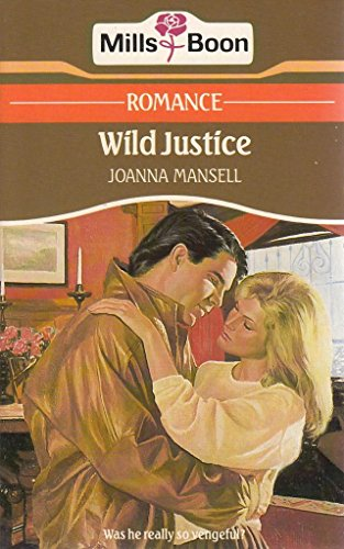Wild Justice By Joanna Mansell