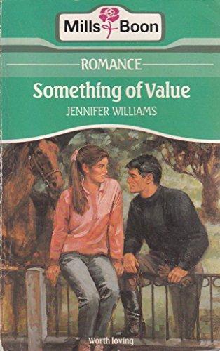 Something of Value By Jennifer M. Williams