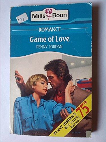 Game Of Love By Penny Jordan