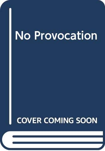No Provocation By Sophie Weston