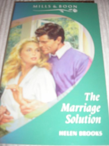 The Marriage Solution By Helen Brooks