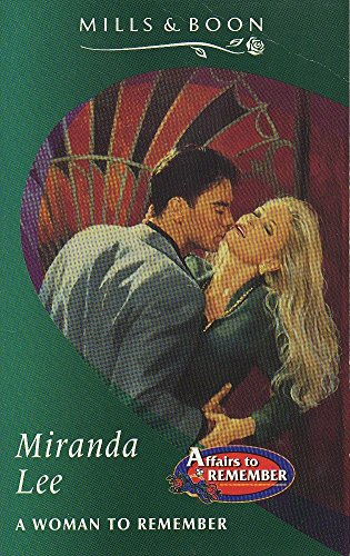 A Woman to Remember By Miranda Lee