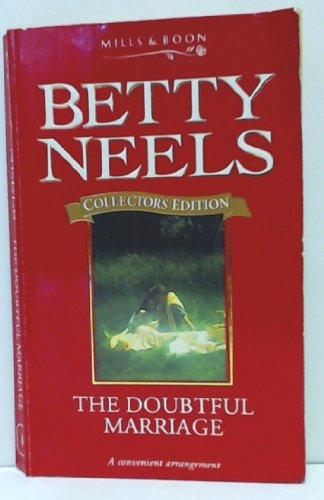 A Doubtful Marriage By Betty Neels