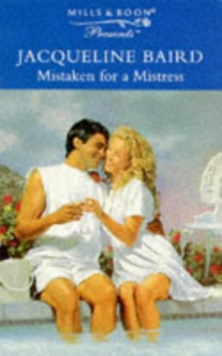 Mistaken for a Mistress By Jacqueline Baird
