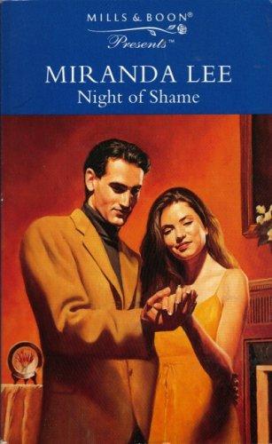 Night of Shame By Miranda Lee