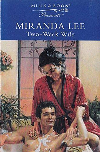 Two-week Wife By Miranda Lee