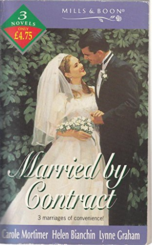 Married by Contract By Carole Mortimer