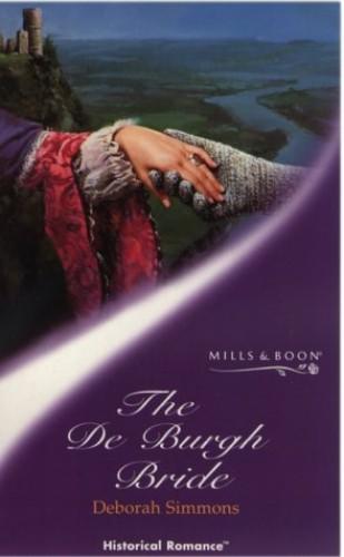 The De Burgh Bride By Deborah Simmons