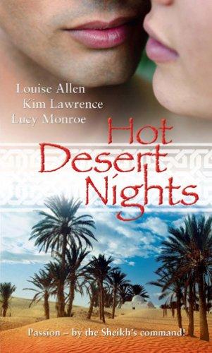 Hot Desert Nights By Lucy Monroe