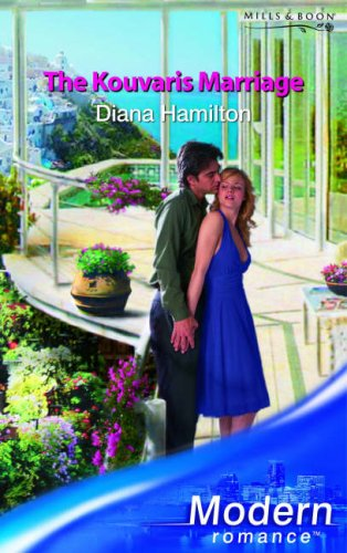 The Kouvaris Marriage By Diana Hamilton