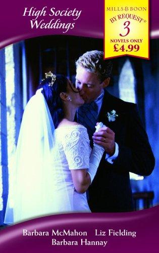 High Society Weddings By Barbara McMahon