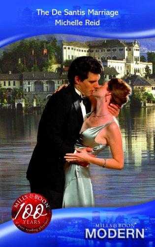 The De Santis Marriage By Michelle Reid