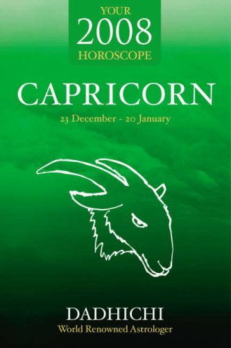 Capricorn 2008 By Dadhichi Toth
