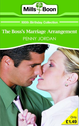 The Boss's Marriage Arrangement By Penny Jordan