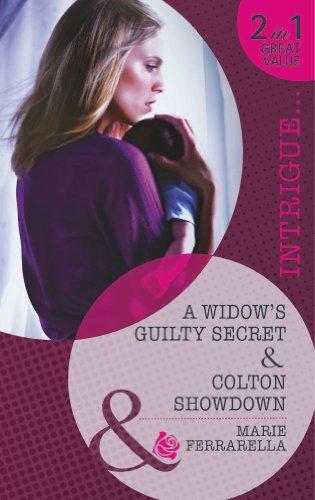 A Widow's Guilty Secret / Colton Showdown By Marie Ferrarella